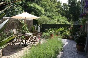 Lavender Cottage Patio