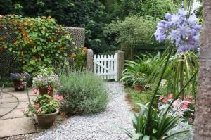 Lavender Cottage Front Gate